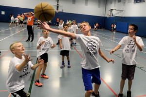 Head Start Basketball Director Mike Klinzing hosts his camp in Strongsville.